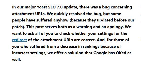 yoast seo bug plugin